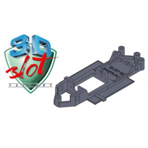 Chasis LINEAL Fiat Punto FLY SLOT 3Dslot C3DS-L016
