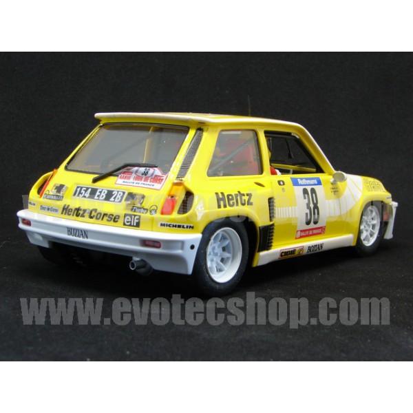 Renault R5 Turbo: Slotwings RENAULT 5 TURBO TOUR DE CORSE 1984 [W037-02