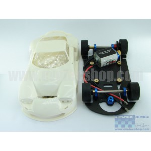 Marcos LM600 GT2 White Kit con Chasis Metalico