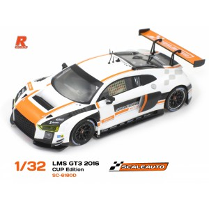 Audi R8 LMS GT3 Cup Ed White/Orange R-Version AW