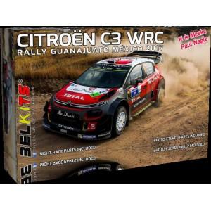 BELKITS Kit 1/24 CITROËN C3 WRC 2018 MEEKE