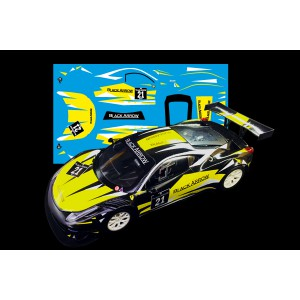 Black Arrow Ferrari GT3 ITALIA Kit Calcas YELLOW