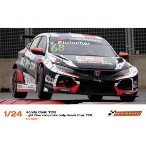 Carrocería 1/24 Honda Civic TCR en Fibra