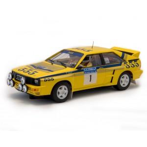 Audi Quattro A2. Rally Hong Kong Beijing 1985