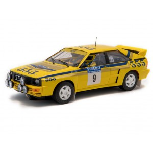 Audi Quattro A2. Rally Hong Kong - Beijing 1985