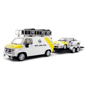 MG de asistencia de Opel Manta oficial Ed Limitada