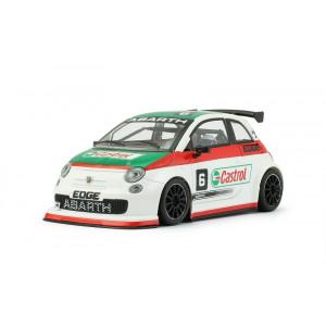 Abarth 500 Assetto Corsa Castrol 6 White