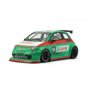 Abarth 500 Assetto Corsa Castrol 66 Green