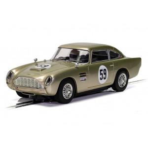 Aston Martin DB5 - White Gold - AMOC Brands Hatch