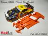 CHASIS 3D - NISSAN Z350 POWER SLOT ANGULAR BLANDO