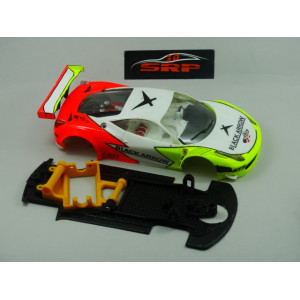 Chasis 3D Pivotante Ferrari Italia GT3 BLACK ARROW