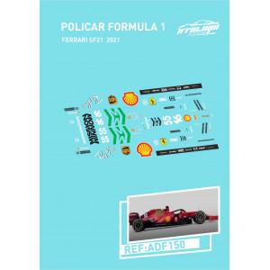 Calca Formula 1 Policar 1/32 Ferrari SF21 2021