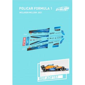 Calca Formula 1 Policar 1/32 McLAren MCL35M 2021