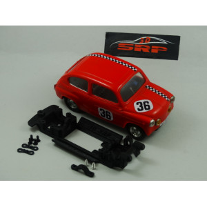 Chasis 3D, T.C. 600. For SCALEXTRIC Body