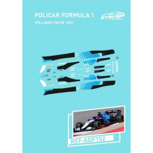 Calca Formula 1 Policar 1/32 Williams 2021