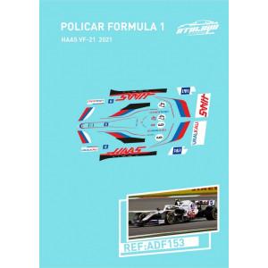 Calca Formula 1 Policar 1/32 Haas 2021