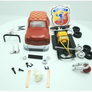 Kit Fiat Abarth Rojo