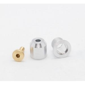 Casquillo de guia + tornillo para chasis metalicos
