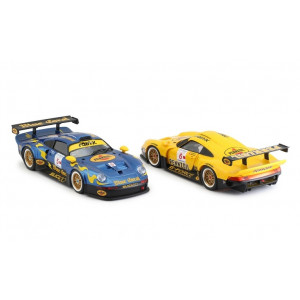 Porsche 911 GT1 Blue Coral + Penzoil Twin Pack