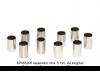 Separador inox. 5 mm. de longitud para eje 3 mm