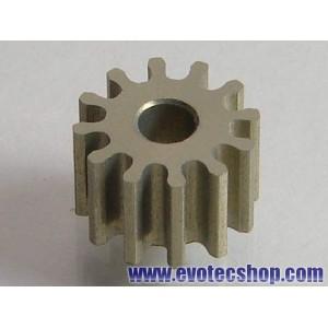 Piñon 12 D diam 6,5 mm Ergal Transversal o Anglewinder (x 1)