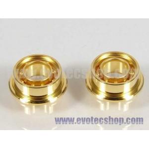 Rodamiento Dorados 6 mm.Ext. x 3mm para chasis