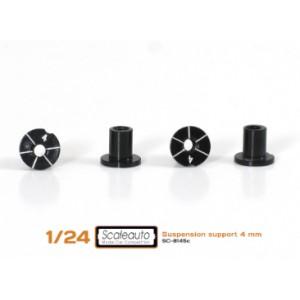 Casquillos sujección H 4mm Aluminio Non concentric