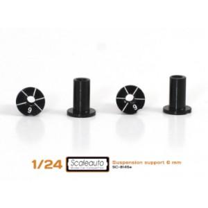 Casquillos sujección H 6mm Aluminio Non concentric