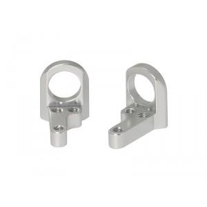 Soporte Eje Aligerado 7mm en Aluminio Mecanizado