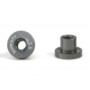 Casquillos aluminio de basculacion H 2,5 mm 4 Uds