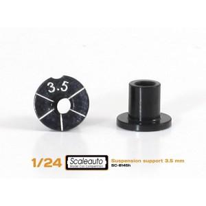 Casquillos sujecc H 3,5 mm Aluminio Non concentric