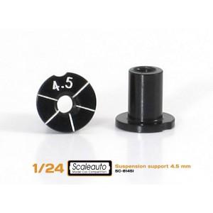Casquillos sujecc H 4,5 mm Aluminio Non concentric