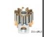 Piñon Extraible  Z11 x 6,5 mm. mod.0.5 Acero SP085211