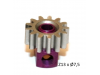 Piñon Extraible  Z13 x 7,5 mm. mod.0.5 Acero