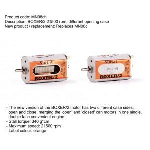 Motor Boxer 2 cerrado 21500RPM 340 Gr/cm